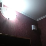 Крепление настенного светильника, дверного звонка. Благовещенск