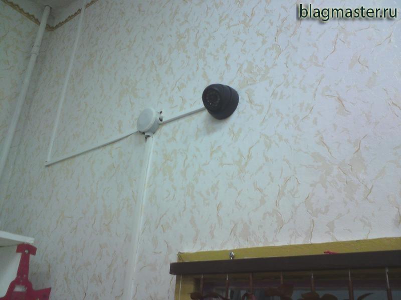 Установка видеокамер. Благовещенск