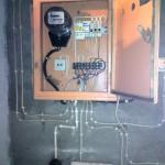 Сборка электрощитка в гараже с подручных средств. Благовещенск