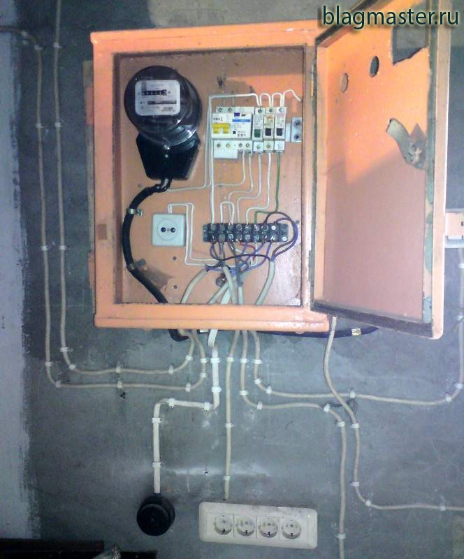 Подключение электрощитка своими руками 56