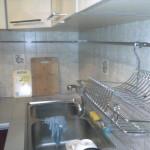 Крепление рейлинга на кухне