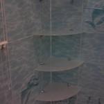 Крепление полок в ванной